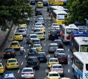 Sexta-feira é o dia com mais colisões de trânsito no Rio de Janeiro
