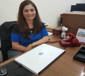 Rosa Antunes, presidente da Acoplan