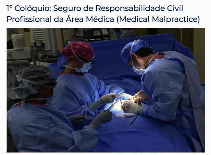 Argo Seguros participará de evento sobre Responsabilidade Civil Profissional da área Médica
