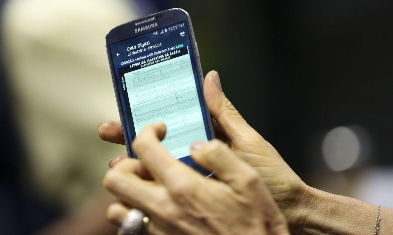 Mais de 5 milhões de motoristas fizeram o download da CNH digital
