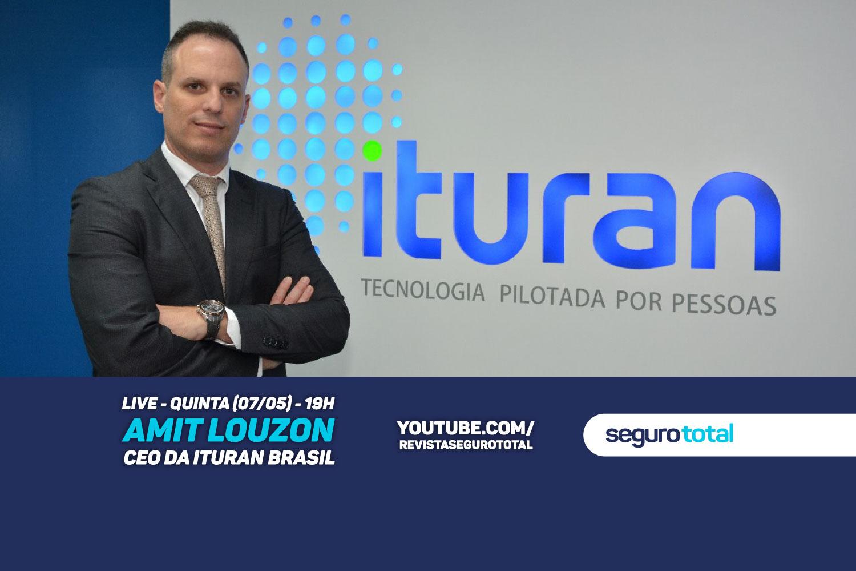 CEO da Ituran no Brasil participa de live no canal da Revista Seguro Total no YouTube
