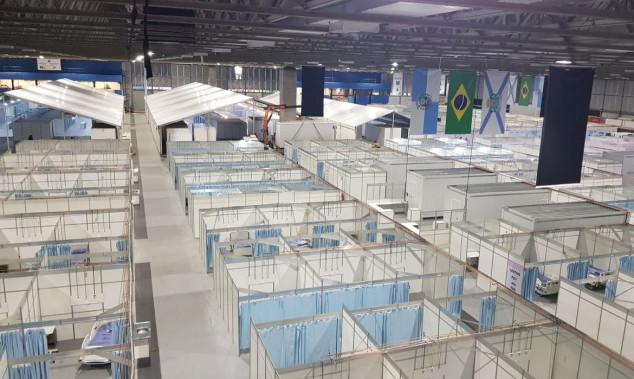 Hospital de campanha no Rio de Janeiro começa a funcionar neste sábado, dia 25
