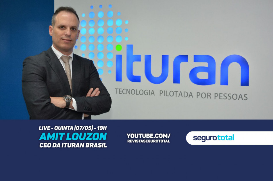 CEO da Ituran no Brasil participa de live no canal da Revista Seguro Total no YouTube