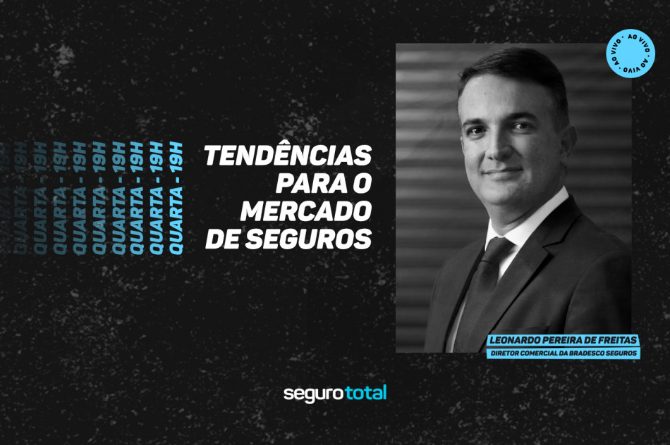 Siga ao vivo: Leonardo Pereira de Freitas, da Bradesco Seguros, apresenta tendências para o mercado segurador