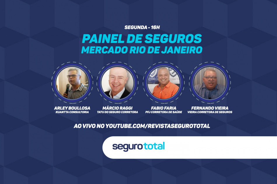 Seguro Total promove Painel sobre Seguros com corretores do Rio de Janeiro nesta segunda