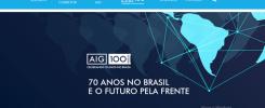 AIG comemora 70 anos de operação no Brasil e lança site com sua visão de futuro e inovação