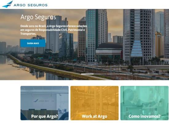 Argo Seguros lança portal institucional