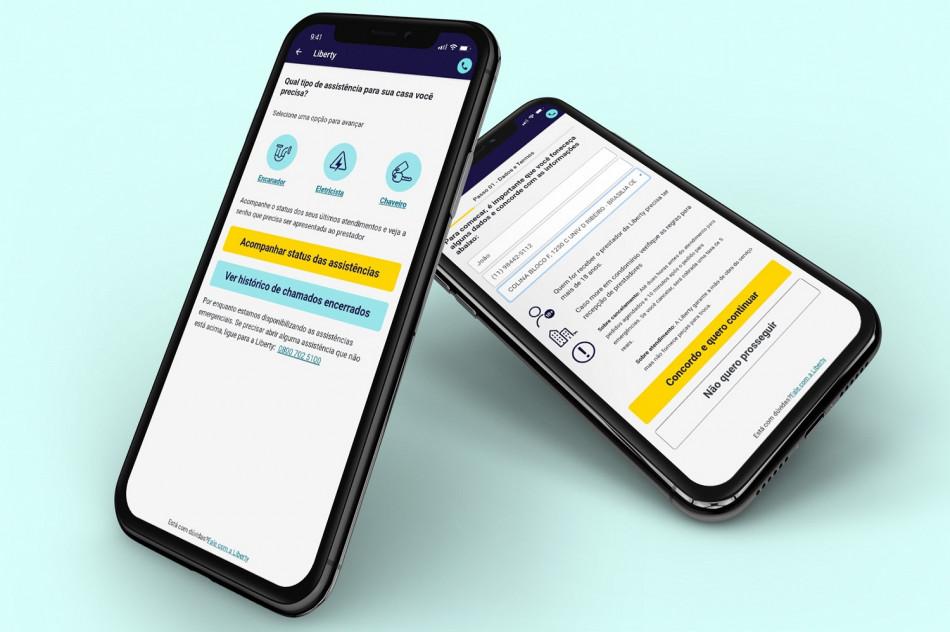 Liberty Seguros anuncia nova função de assistência para seguros residenciais em seu aplicativo