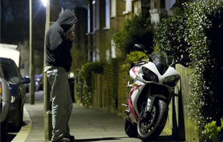 Roubo e furto de motos crescem 24,21% no primeiro semestre do ano