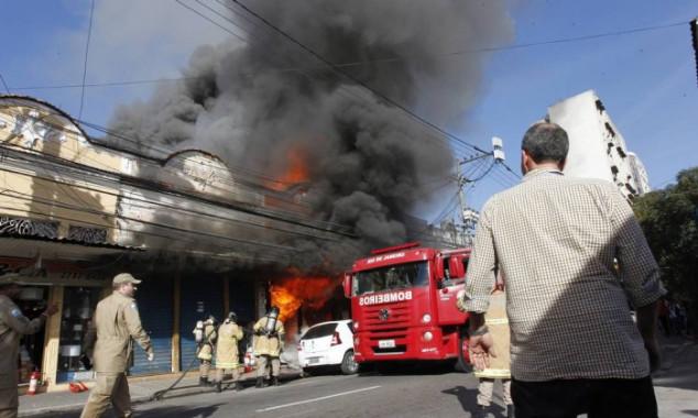 Segundo dados do Sincor-SP, apenas 25% das empresas contratam seguro incêndio