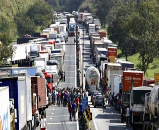 Seguro de transporte – greve dos caminhoneiros