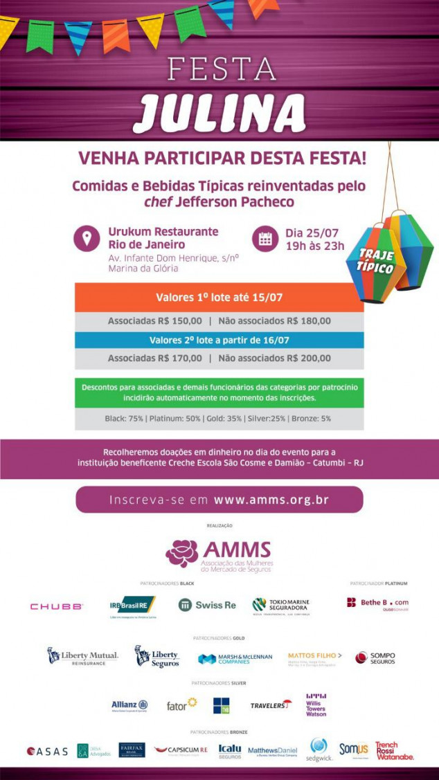 Sincor-RJ apoia evento organizado pela Associação das Mulheres do Mercado de Seguros