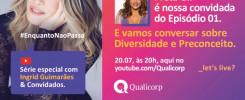 Qualicorp apresenta Ingrid Guimarães e Preta Gil na próxima edição da Let's Live