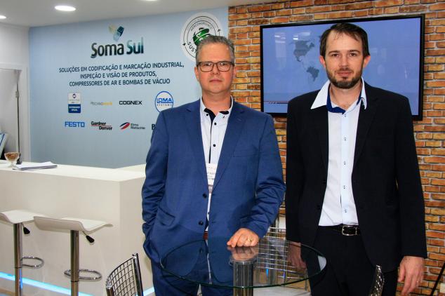 Gustavo Martins e Gilberto Dick, sócios-diretores da Soma Sul