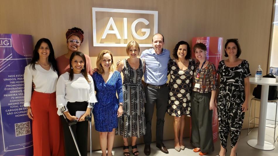 AIG promove evento sobre liderança feminina e diversidade