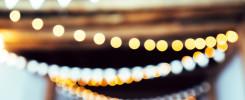 Decoração com luzes: aplique essa ideia no seu evento