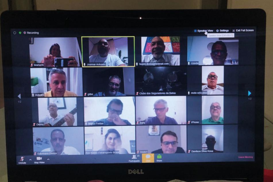 Clube dos Seguradores da Bahia avança nos encontros online
