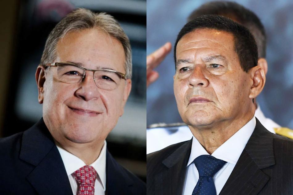 Marcio Coriolano participa de webinar com o vice-presidente Hamilton Mourão