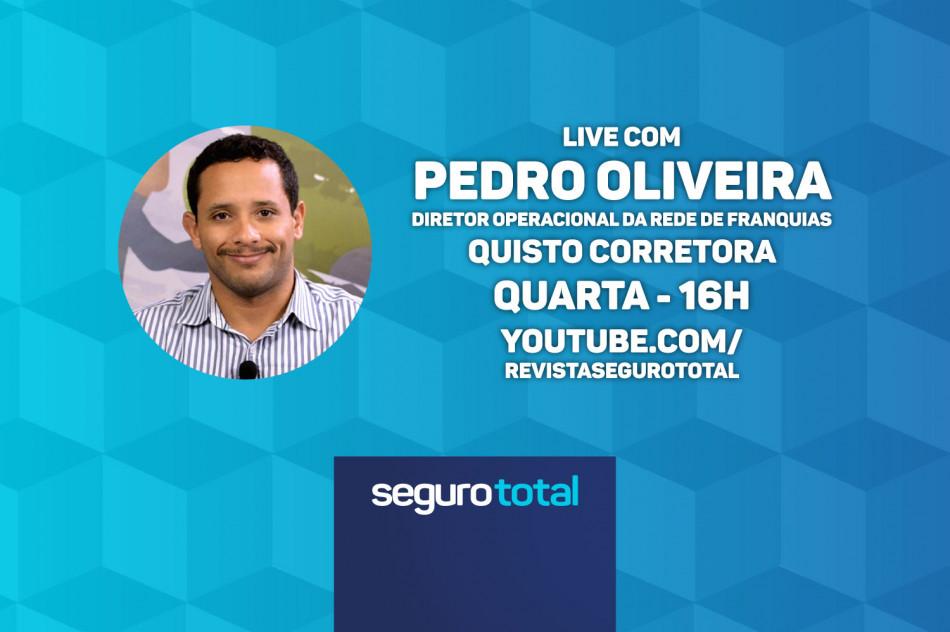 Diretor da Quisto Corretora participa de live da Seguro Total a partir das 16h; Siga ao vivo