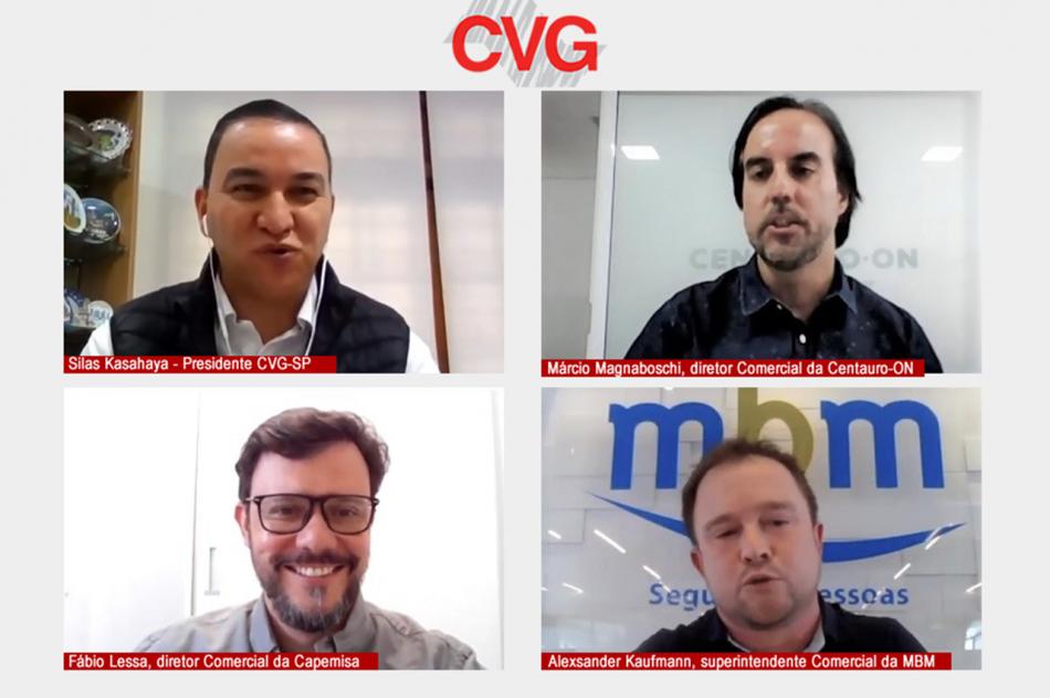 Live do CVG-SP avalia crescimento do seguro de pessoas e tendências no pós-pandemia