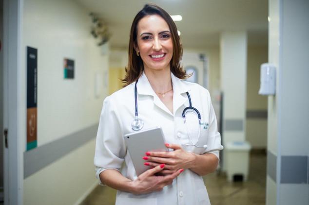 Camila Dala Riva, coordenadora da área médica da Klini