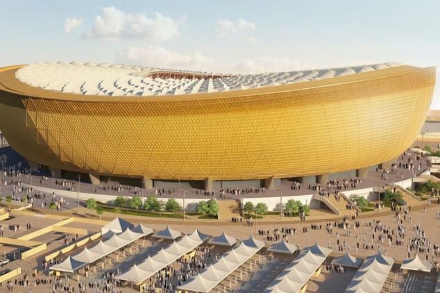 O Estádio Lusail / Reprodução