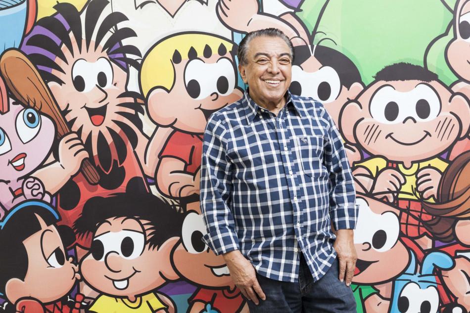 Cartunista Mauricio de Souza participa de transmissão da MAG Seguros