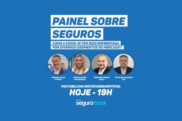 Seguro Total promove Painel Sobre Seguros com Livonius, PASI, Doc24 e CIST