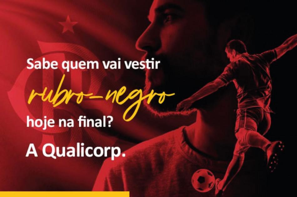 Qualicorp firma parceria com o Flamengo para final do Campeonato Carioca