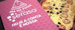 No Dia da Pizza, Serasa entrega delícias aos consumidores