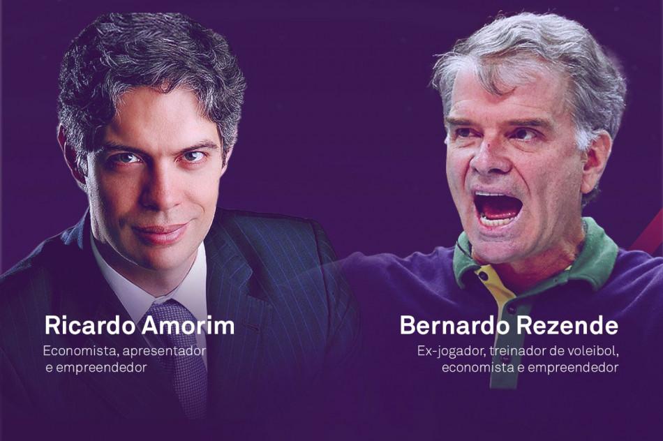 Bernardinho e Ricardo Amorim ensinam a driblar crise em tempos de Covid-19